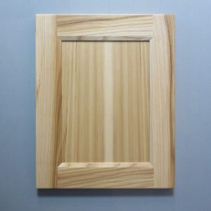 Hickory, 3/8 Flat Panel, Bevel Shaker Inside Profile, Natural