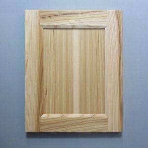 Hickory, 3/8 Flat Panel, Bevel Shaker Inside Profile, Natural