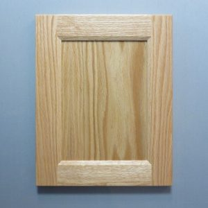 Red Oak, 3/8 Flat Panel, Bevel Shaker Inside Profile, Natural