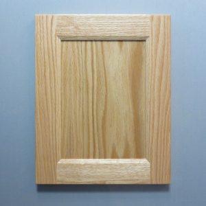 Red Oak, 3/8 Flat Panel, Bevel Shaker Inside Profile, Natural