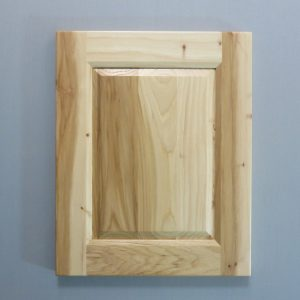 Hickory, Bevel Raised Panel, Bevel Shaker Inside Profile, Natural