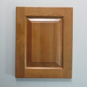 Cherry, Ogee Solid Raised Panel, 1/4 Round Inside Profile, 1 Coat Chestnut Stain