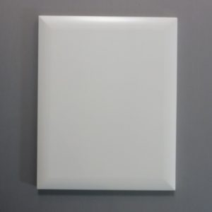 3/4 MDF Pillow edge door, White paint