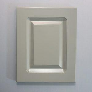 Routered MDF Door in Cinder Paint
