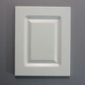 Routered MDF Door In White