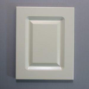 Routered MDF Door In Ballet White