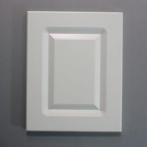 Vinyl Wrap Door In White