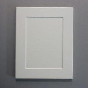 Shaker Look Vinyl Wrap Door In White