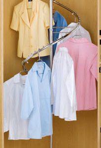 Spiral Clothes Rack
